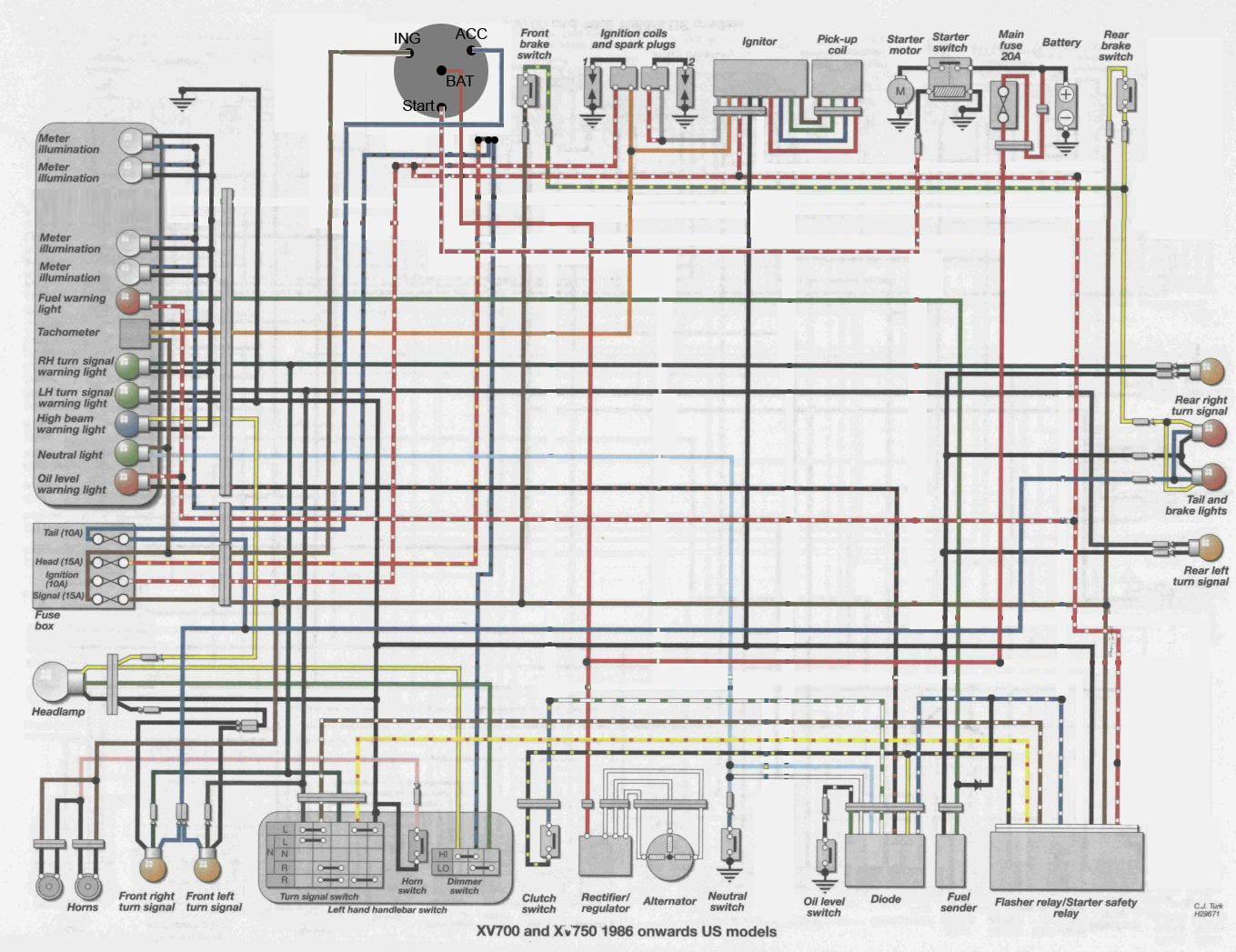 Yamaha 535 Wiring Diagram - All Wiring Diagram