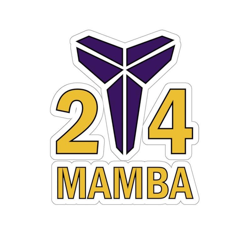 Stickers Kobe Bryant Mamba 24 Mamma Stickers Kobe Bryant