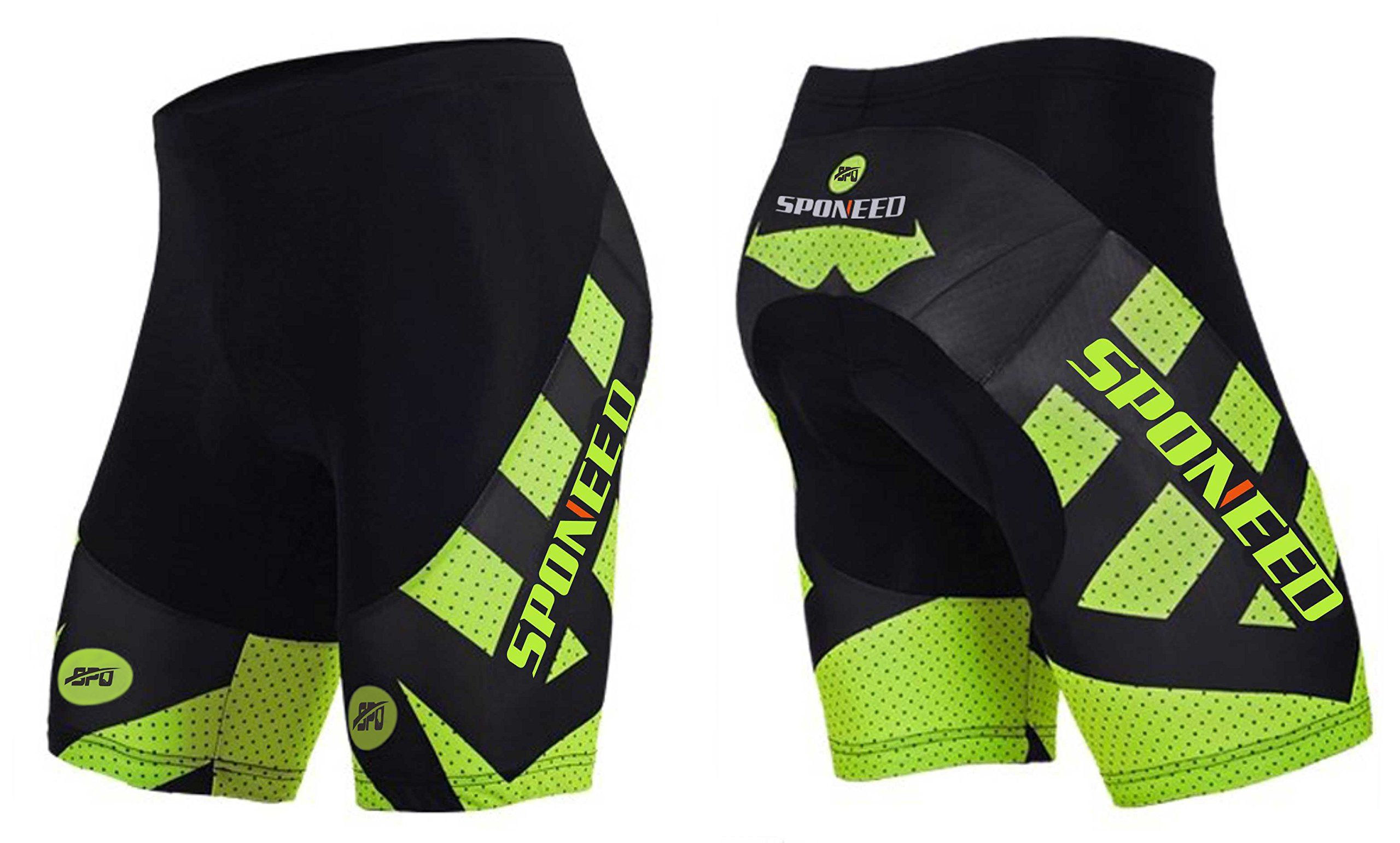 Padded Bike Shorts Men Sponeed Bicycle Short Half Pants Bike Wear