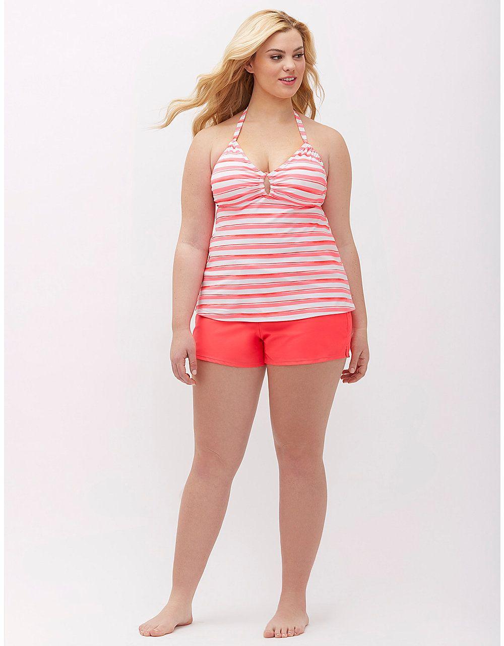 4b90a339f0b84 Plus size knit swim short by Lane Bryant | Lane Bryant | Women's ...