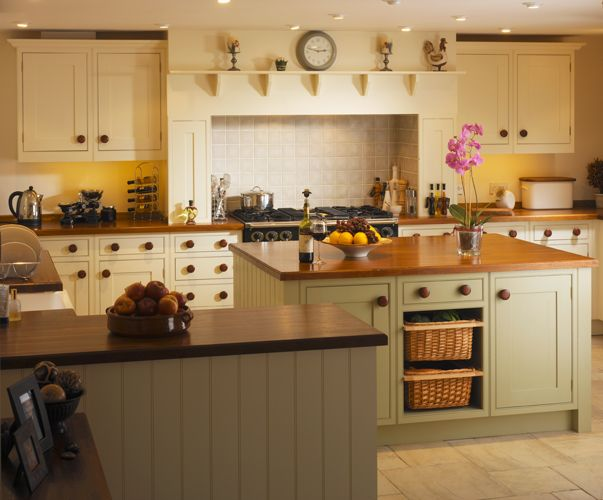 Modern Country Style Love This Kitchen Creamy White With