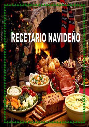 4 Feliz Navidad Comidas Navidenas Recetario De Cocina Recetas De Navidad