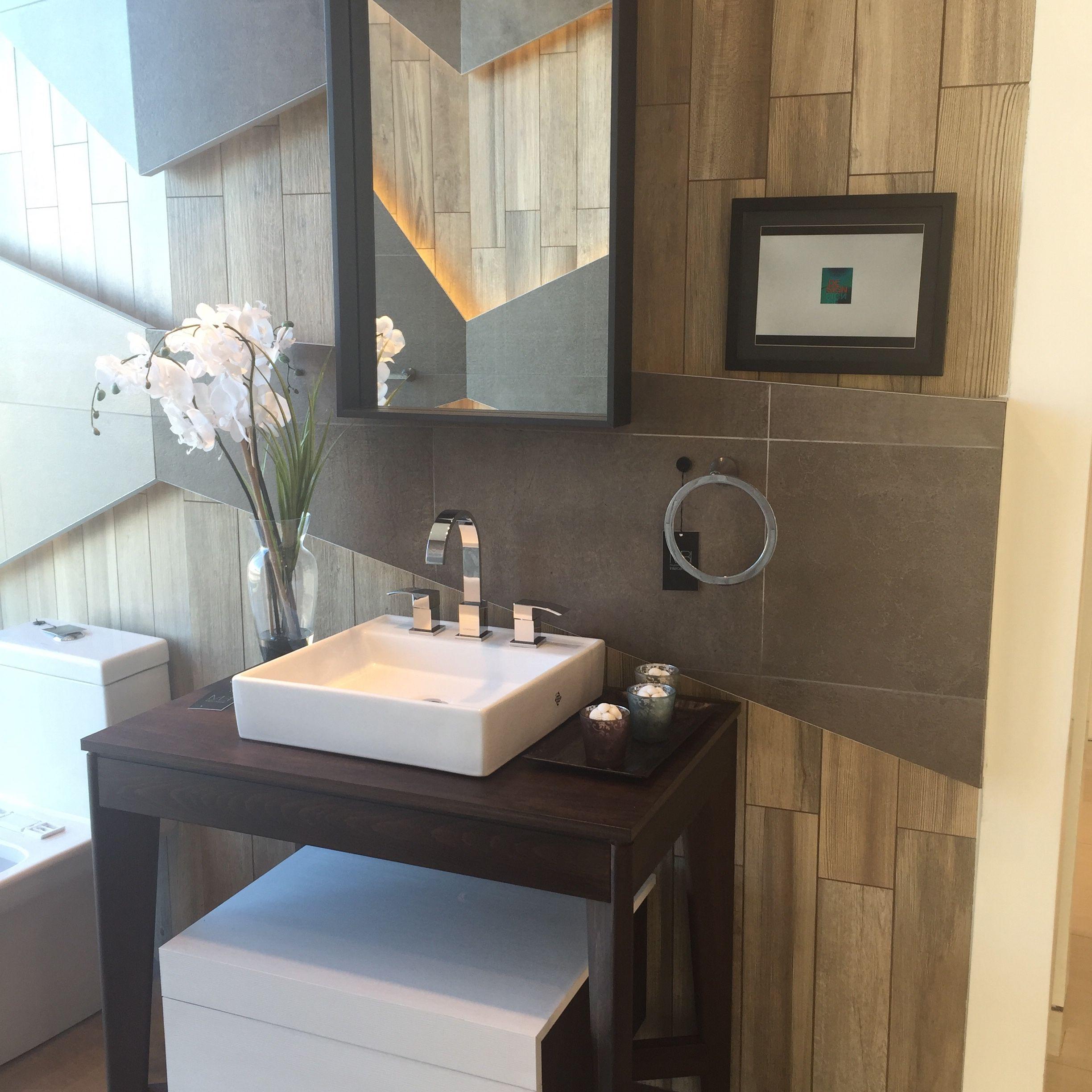 1c1e4b5a887c Baño Trio Cemento y Trio Legno, mueble de baño Amber | Baños ...