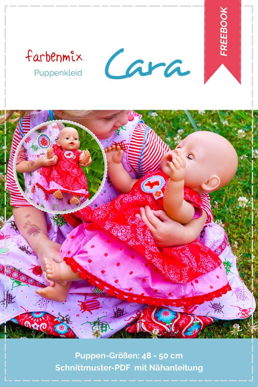 Photo of Kostenlose Nähanleitung, Puppenkleid, Cara
