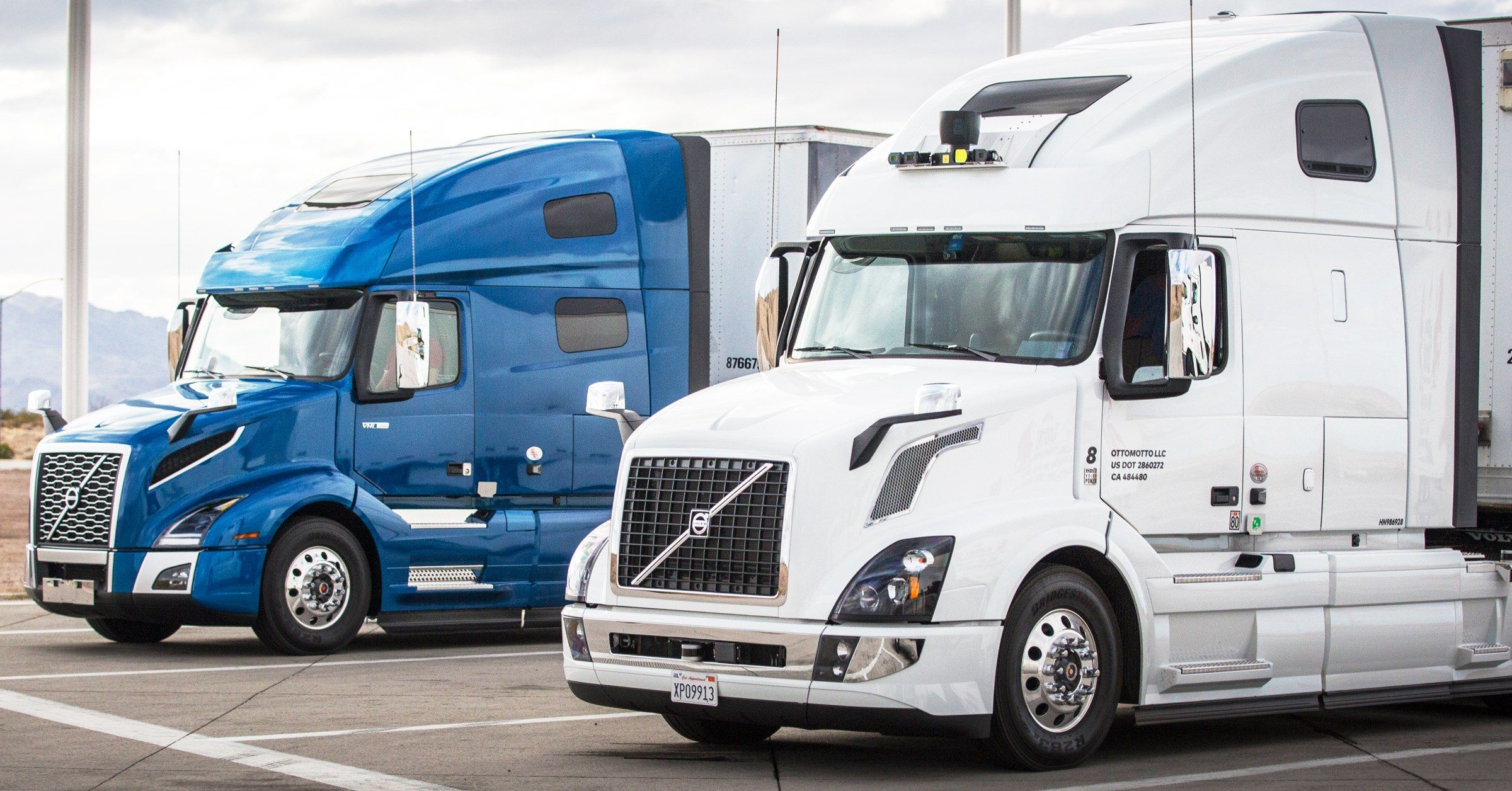 Uber S Self Driving Truck Scheme Hinges On Logistics Not Tech Self Driving Trucks Robot Truck