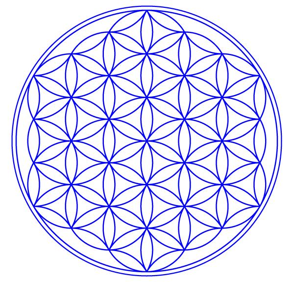 Flower Of Life Vector Art Download Free Vector Art Flower Of Life Tattoo Flower Of Life Sacred Geometry Tattoo