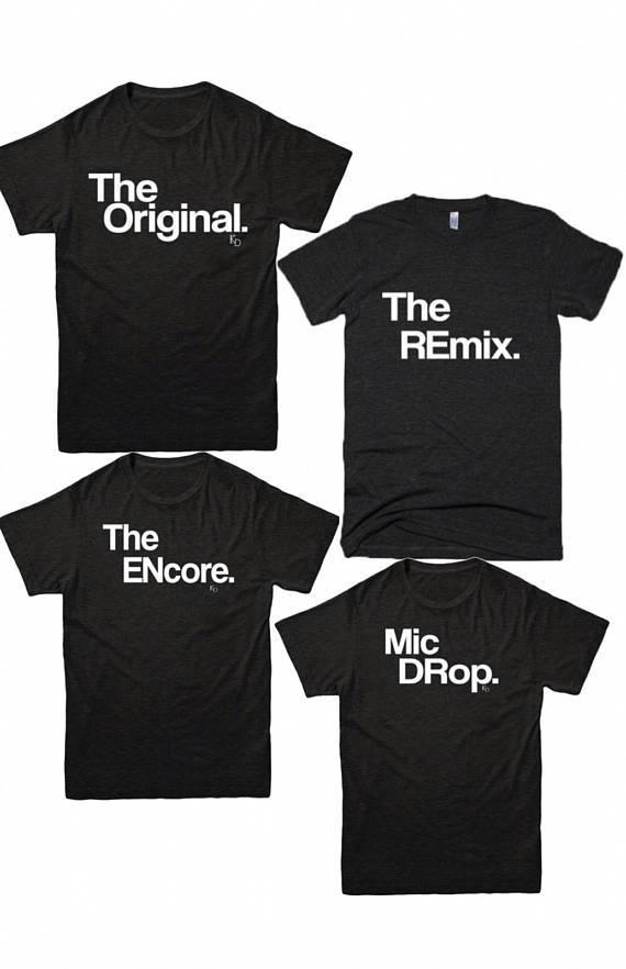 12f6caeb Unisex Clothing   Women Shirts   The Original   Remix   Adult Shirt    Matching Family Tee   Unisex S