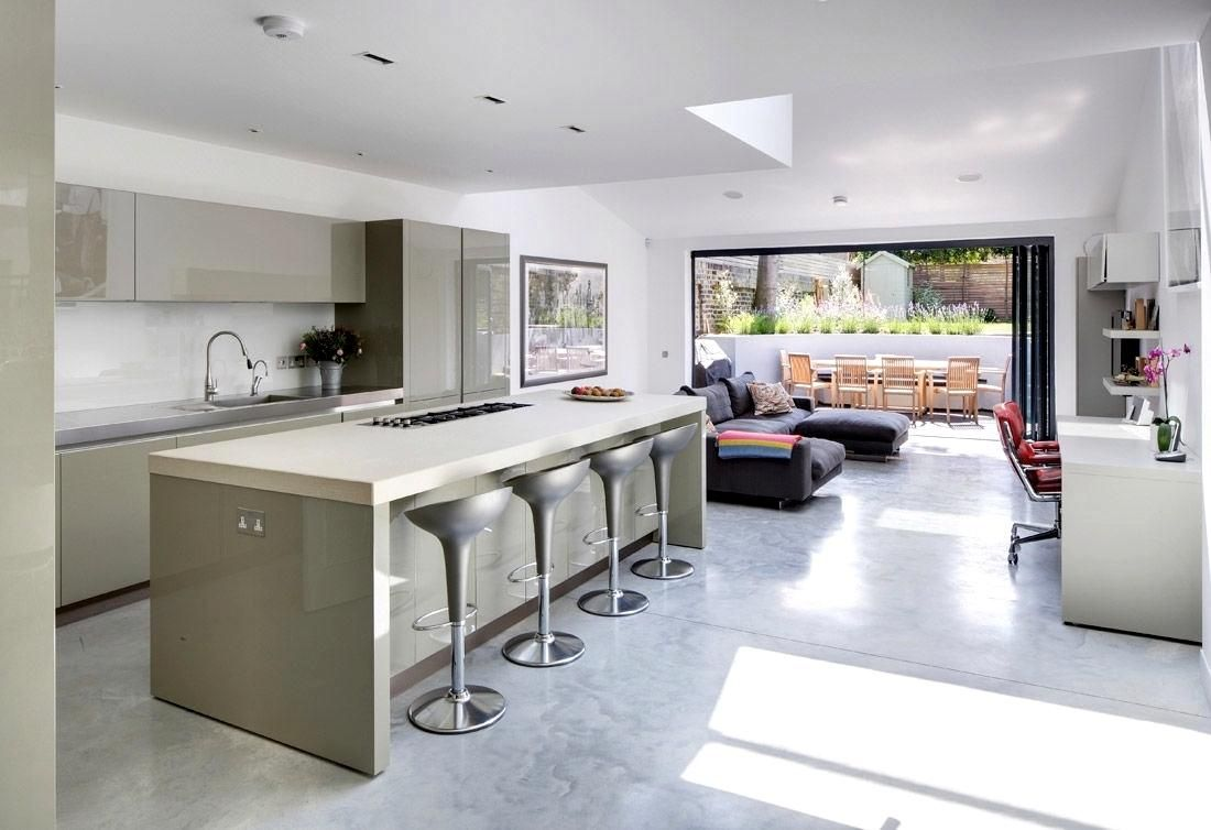 Enjoyable Open Plan Kitchen Diner Design Ideas Kitchen Open Plan Home Interior And Landscaping Elinuenasavecom