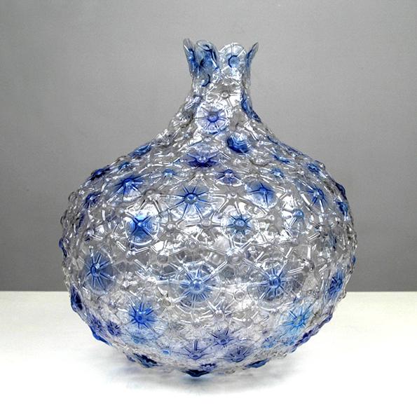 Recycled Plastic Bottle: Shari Mendelson's Recycled Plastic Bottles Vase