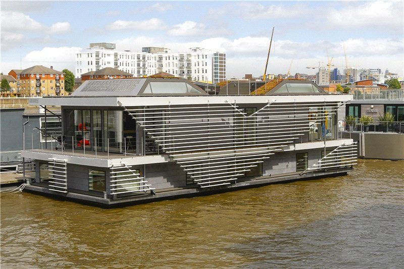 Top 10 Houseboats For Sale Zoopla Houseboating