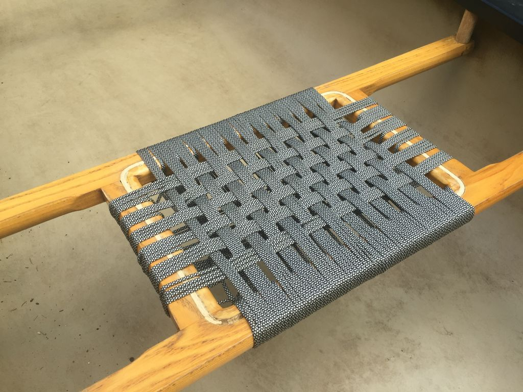 Weave Chair Seats With Paracord  Home Ideas  Woven chair