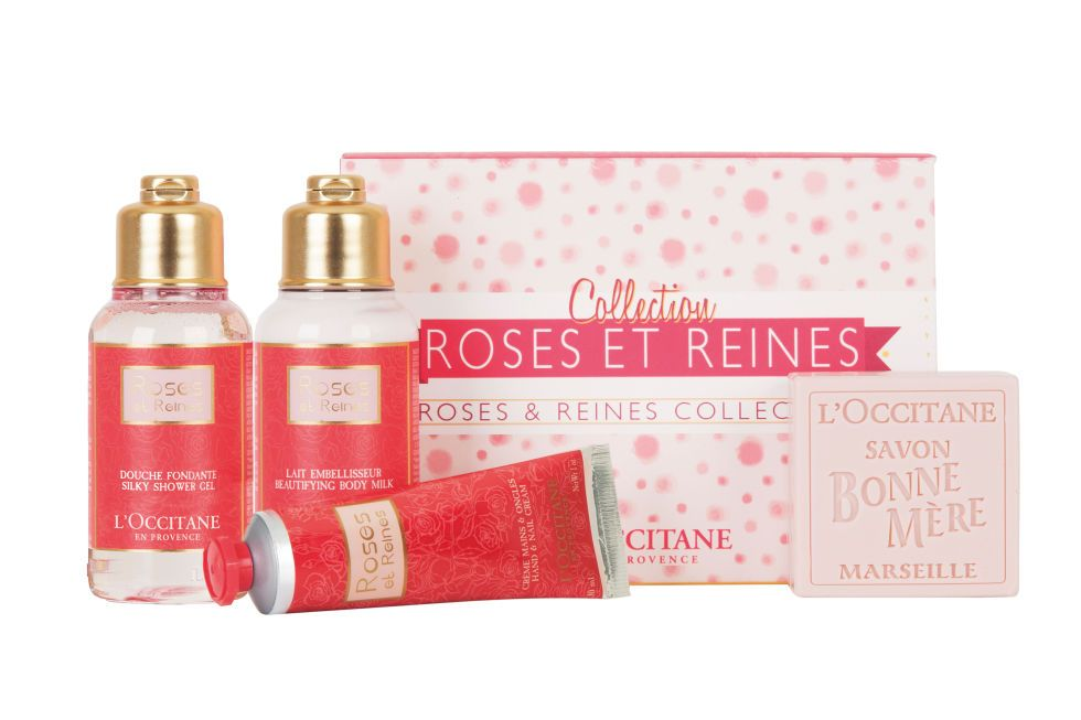 L'Occitane Roses et Reines Gift Set; available Feb. 4 at usa.loccitane.com