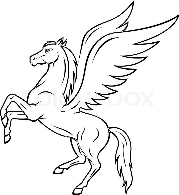 Pegasus Google Search Pegasus Drawing Pegasus Art Pegasus Tattoo
