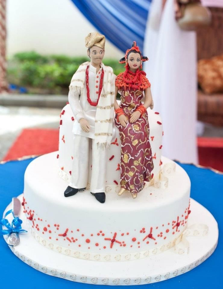pictures of nigerian traditional wedding cake traditional wedding cakes food nairaland 18412
