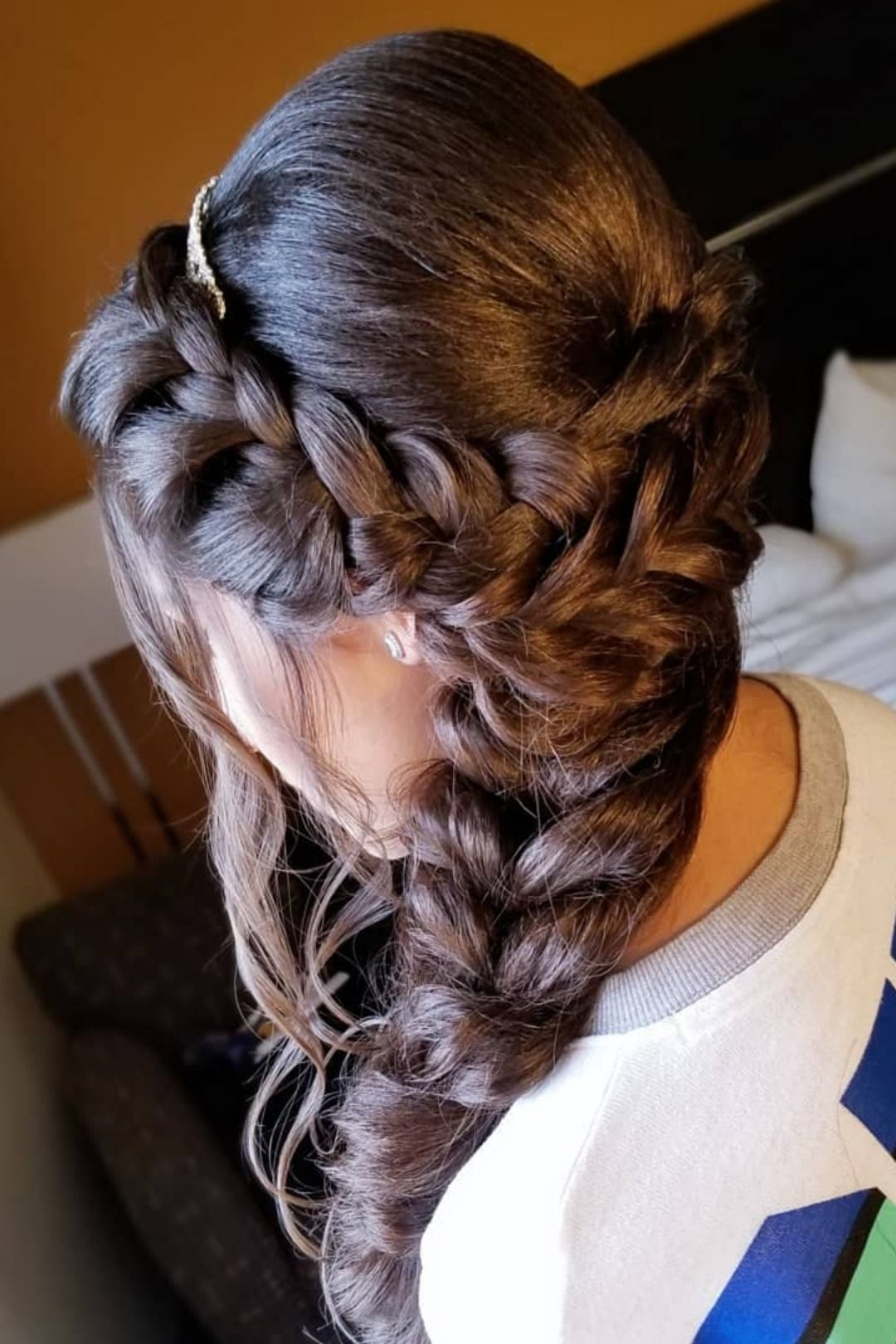6 Popular Hairstyle Ideas For Quinceaneras Hair Styles Quince Hairstyles Quinceanera Hairstyles