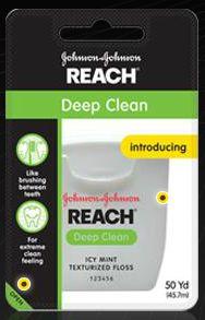 Johnson Johnson Reach Deep Clean Floss Icy Mint