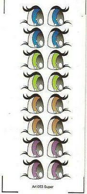Moldes De Olhos Bocas Nariz E Bigodinho Para Imprimir Eye