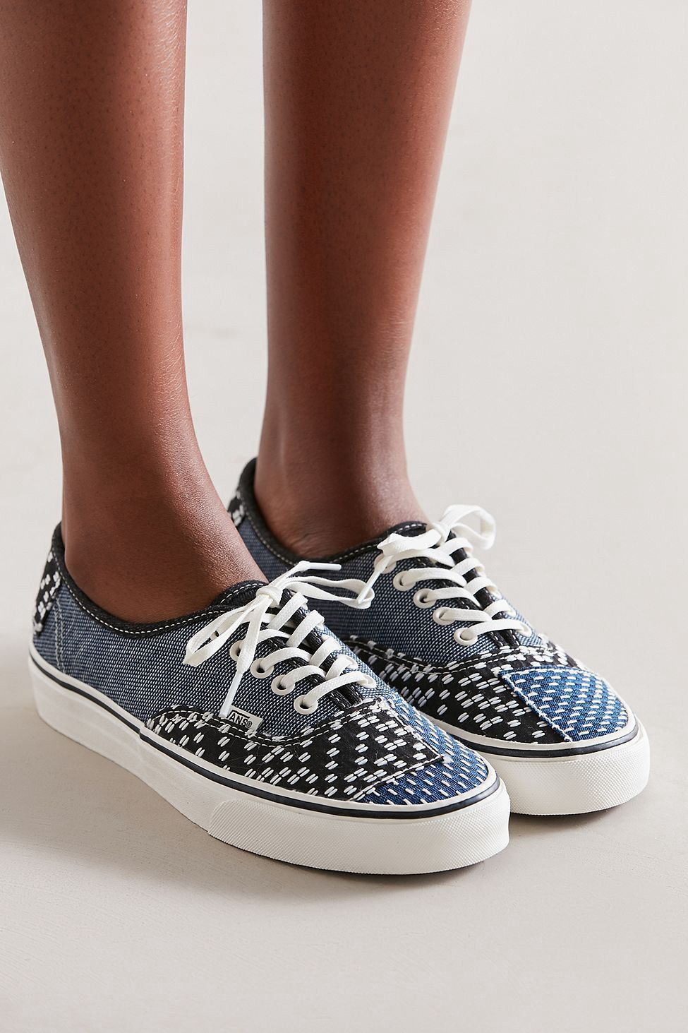 Urban Outfitters Vans Authentic Patchwork Denim Sneaker - W 9.5 M 8 ... 6ea1420a2fa