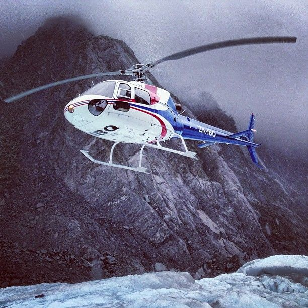 Franz Josef Glacier, a wild helicopter ride up the valley gets it all started! New Zealand.