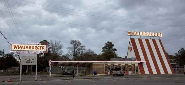 Most of the restaurants still maintain their original A-frame design. | 30 Reasons Whataburger Is The Best Thing Ever
