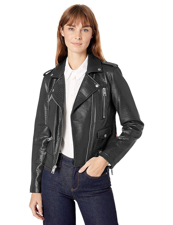 Le Laid Shops:Levi's Motorcycle Jacket in Black Croc - #affiliate #laid #le #levis #link #shopping #shops