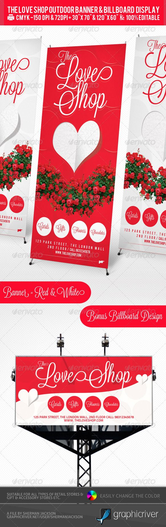 store sign templates