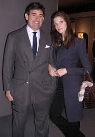 Image result for stephanie seymour husband peter brant