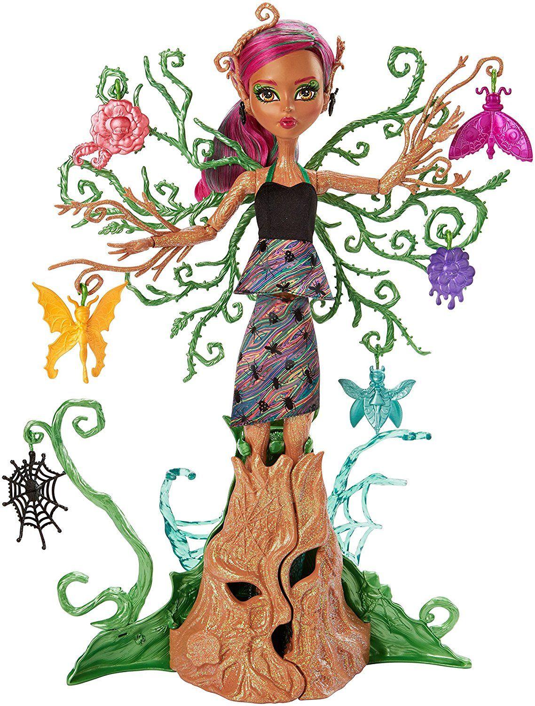 Fabulous Mattel Monster High FCV Garten Monsterfreundin Treesa Thornwillow Amazon de