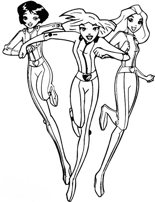 spy coloring pages totally spies coloring pages online | Anime | Pinterest | Coloring  spy coloring pages