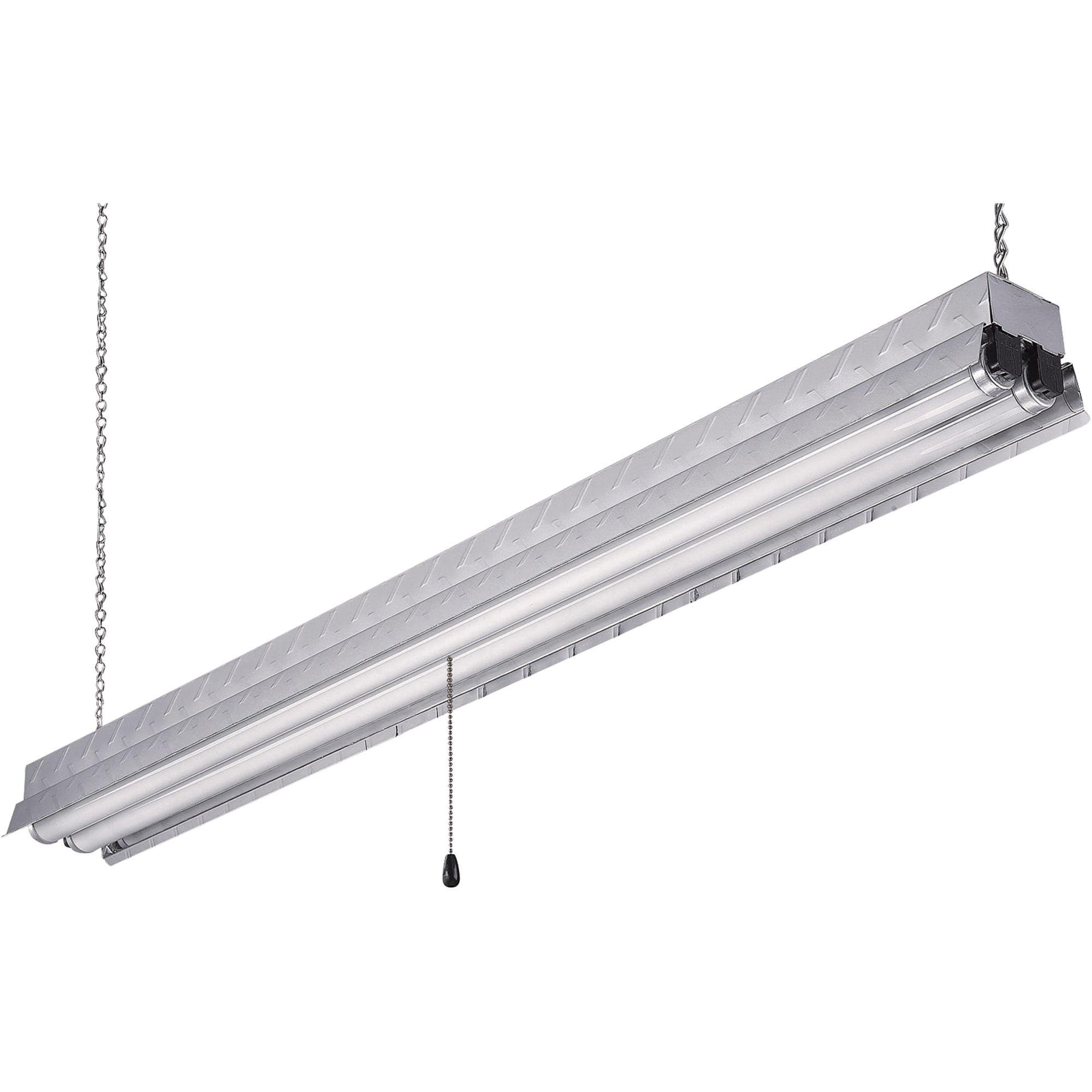 Canarm Hanging Metal Shop Light 48 In Model Efs848232al