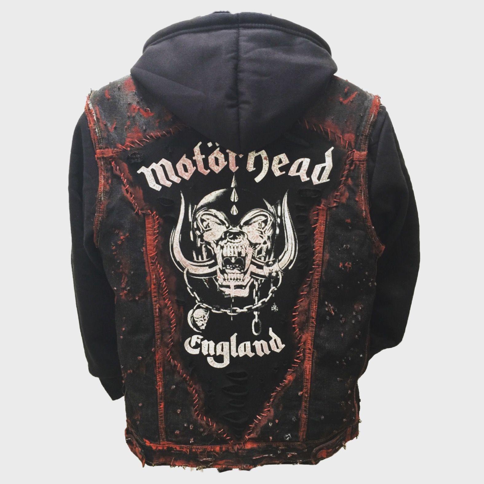 MOTORHEAD ROCK METAL HOODIE