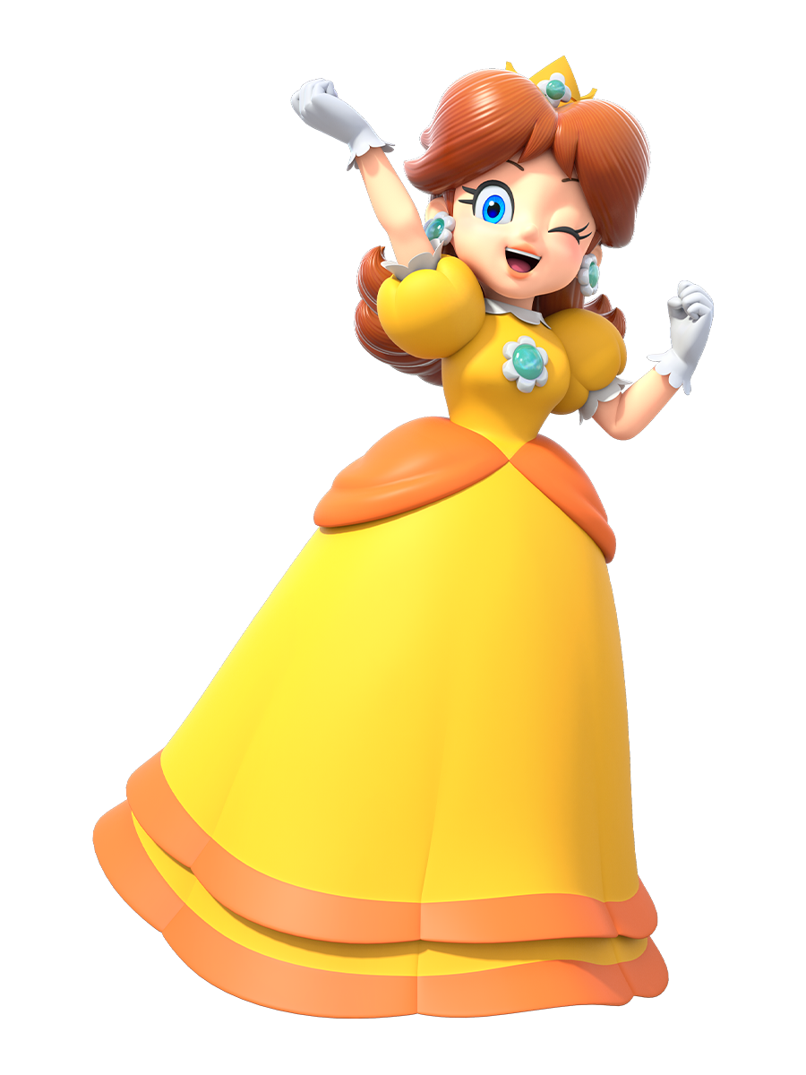 We Repost It To Give You An Even Better Quality Of This Amazing New Official Hd Full Body Princessdaisy Render Feel Free To Use It Of Course