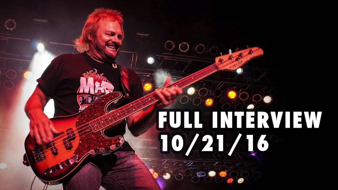Michael Anthony Full Interview W Eddie Trunk 10 21 2016 Van Halen Michael Anthony Michael Anthony Van Halen Van Halen