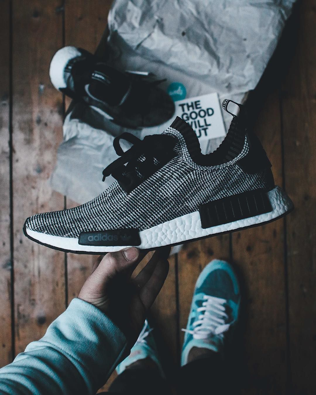 Sizetenplease On Instagram Adidas Nmd Runner R1 Finally In My Hand Big Thanks To Thegoodwillout Adidas Nmd Runner Sneakers Sneakers Men