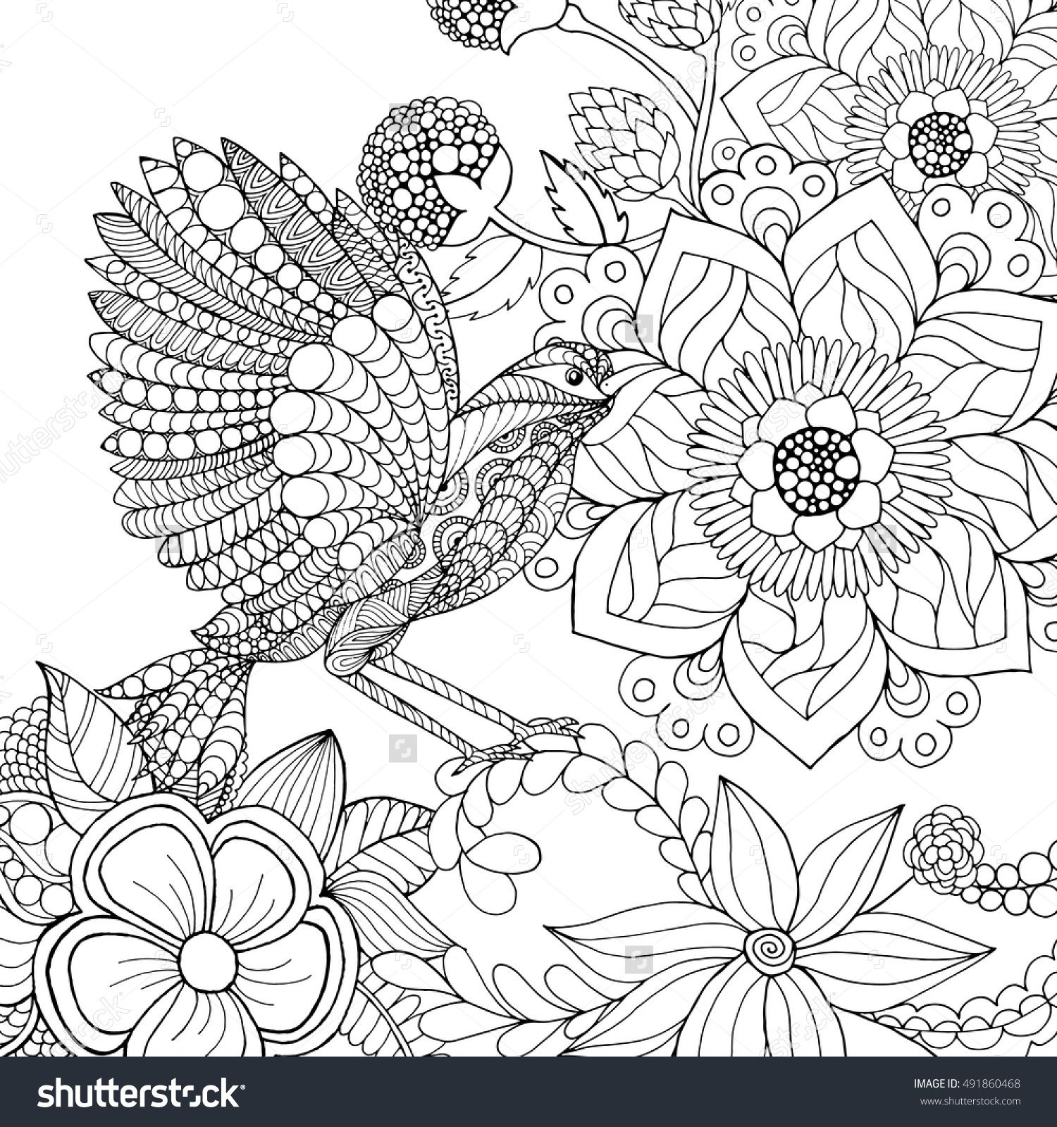 black white hand drawn doodle ethnic patterned vector