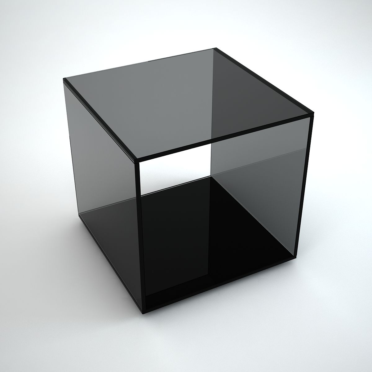 Quebec Grey Tint Glass Side Table By Klarity Klarity Glass Furniture Glass Side Tables All Glass Coffee Table Glass Furniture [ 1200 x 1200 Pixel ]