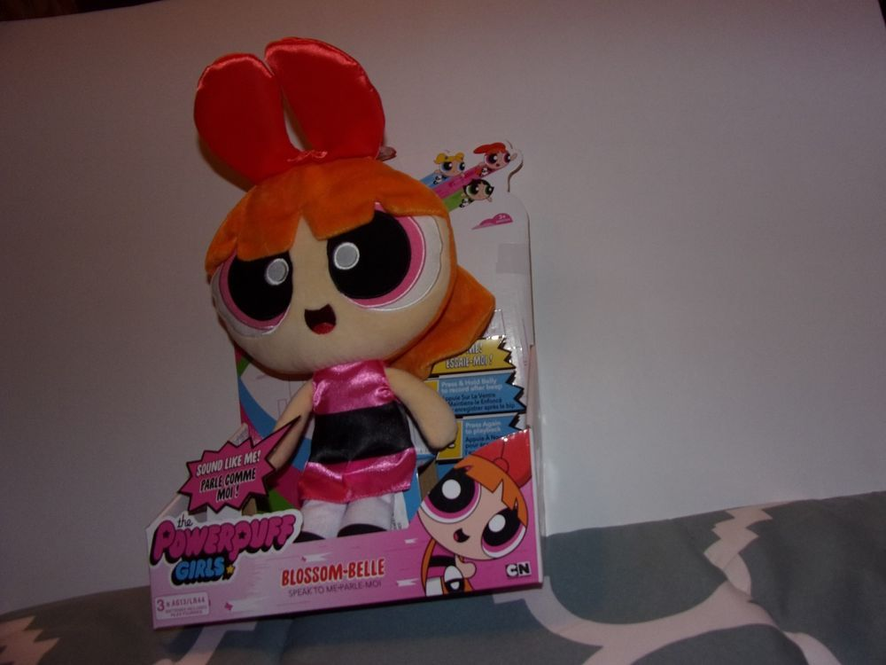 Details About The Powerpuff Girls Blossom Belle Speak To Me Plush