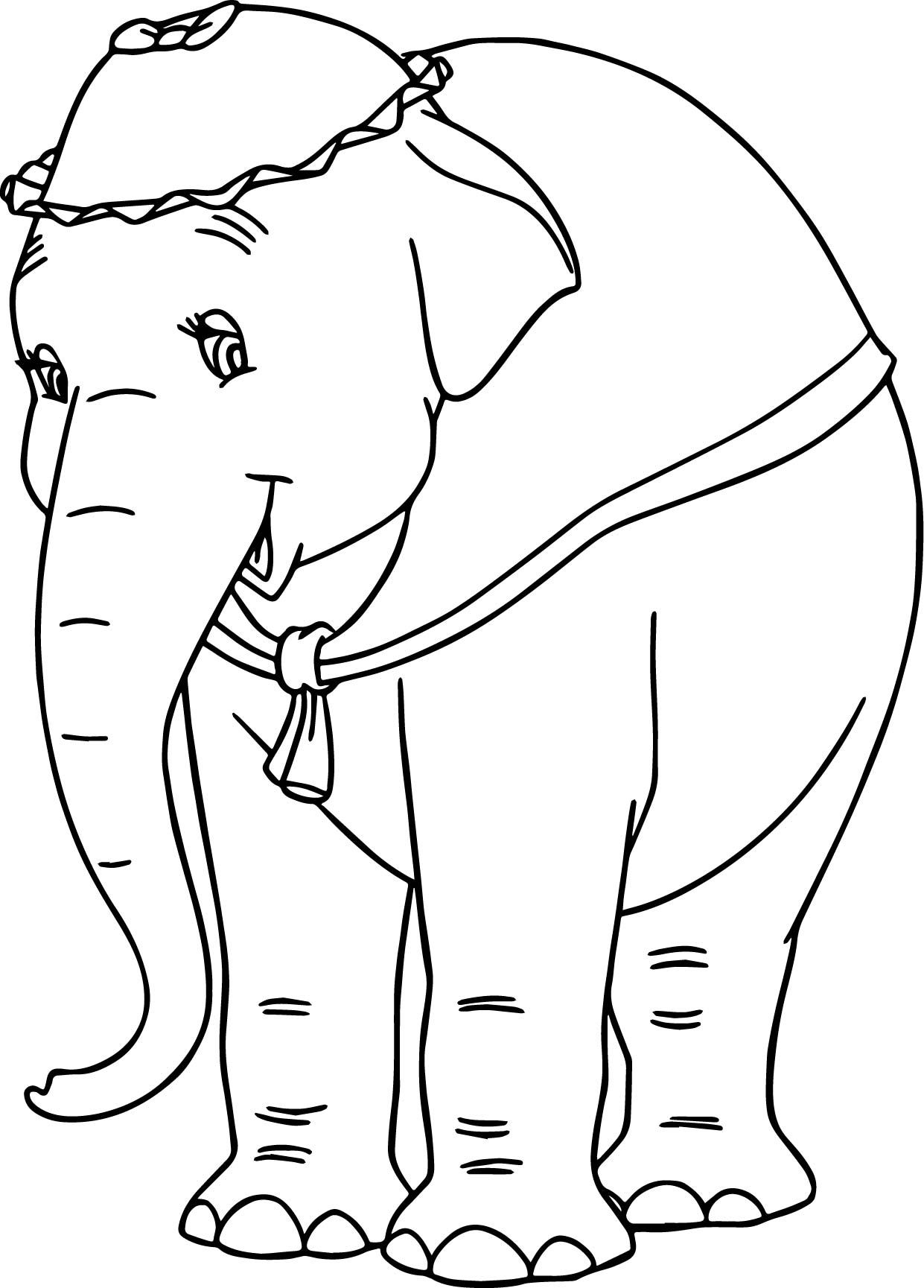 Cool Jumbo Elephant Coloring Pages Elephant Coloring Page