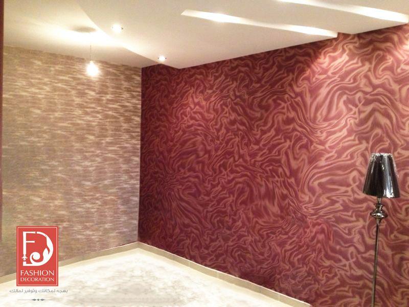 ورق جدران ديكور Design Fashion جمال منازل ورق حائط Bathroom Bathtub
