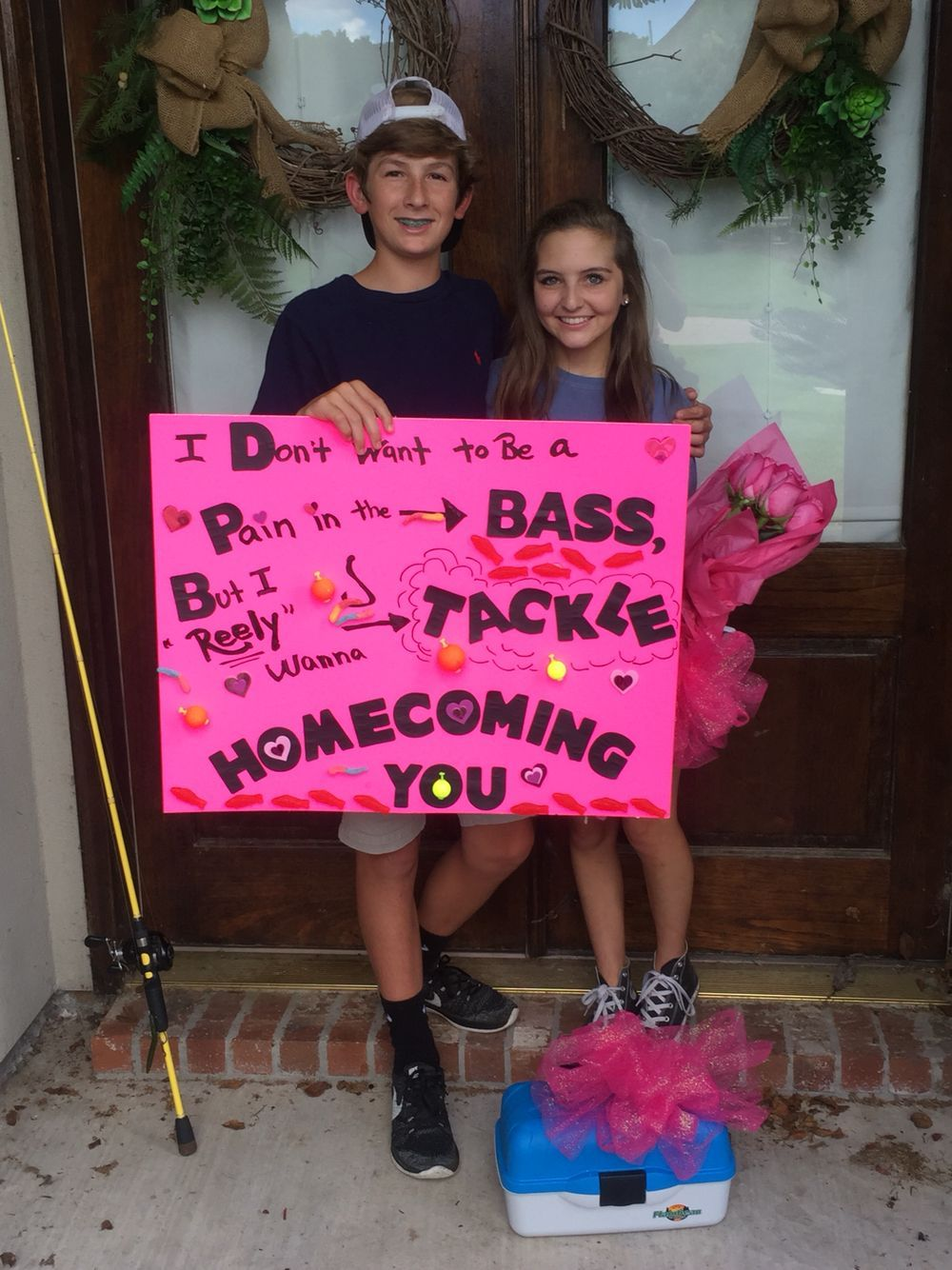 Homecoming Fishing Promgoals Cute Prom Proposals Cute Homecoming Proposals Prom Posters