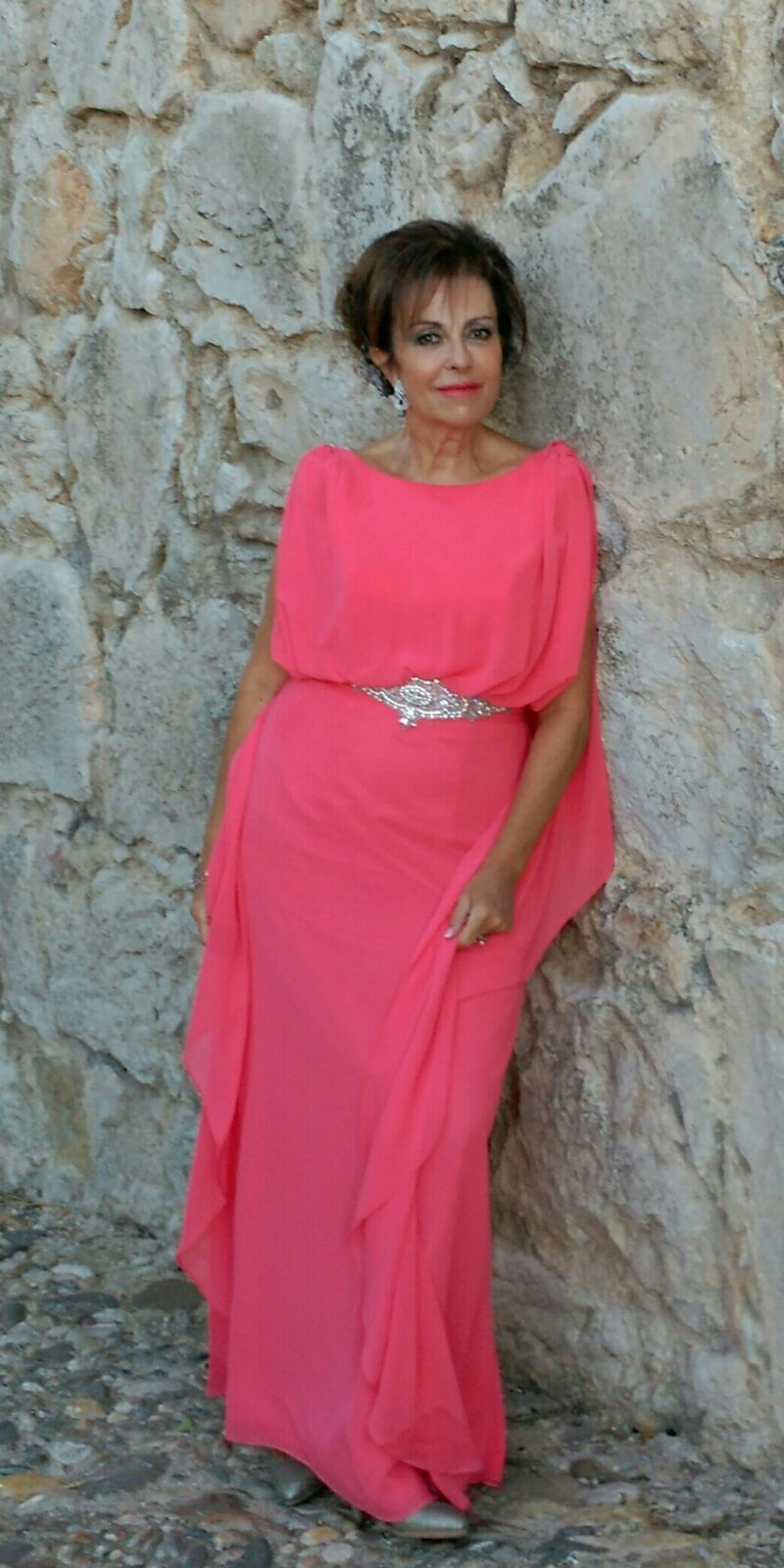Side Evening Dress by Tarik Ediz | Evening dresses