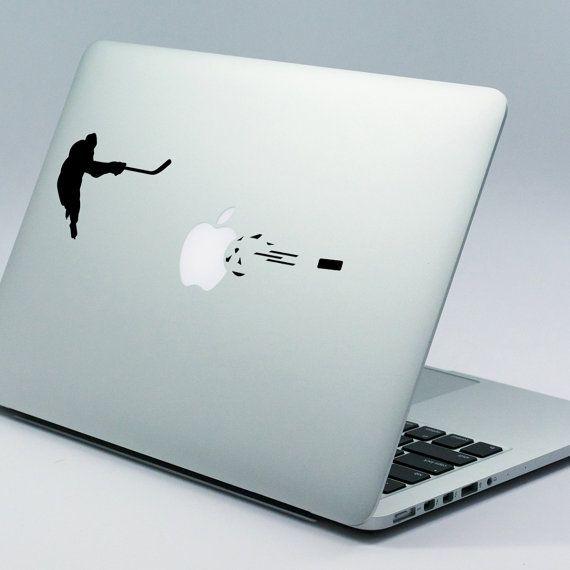 ICE HOCKEY Apple MacBook Decal Sticker fits 11 13