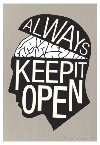 Always Keep It Open Poster | Poster