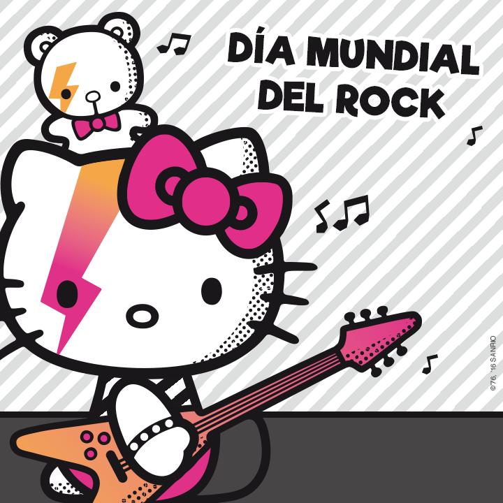 Hello Kitty Es Una Verdadera Rockstar Y Ya Fue Homenajeada Por Muchas Estrellas De Este Estílo Musical Que Transciende Hello Kitty Kitty Hello Kitty Wallpaper