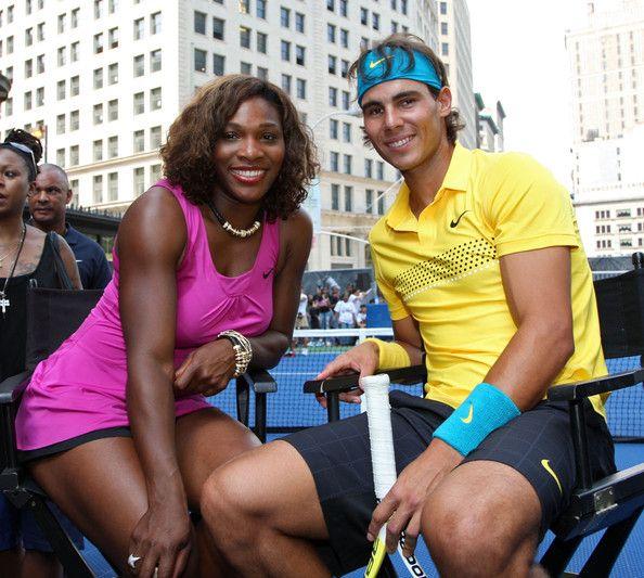 Rafael Nadal Photos Photos Roger Federer Rafael Nadal Serena Williams John Mcenroe Challenge Serena Williams Venus And Serena Williams Serena Williams Wins