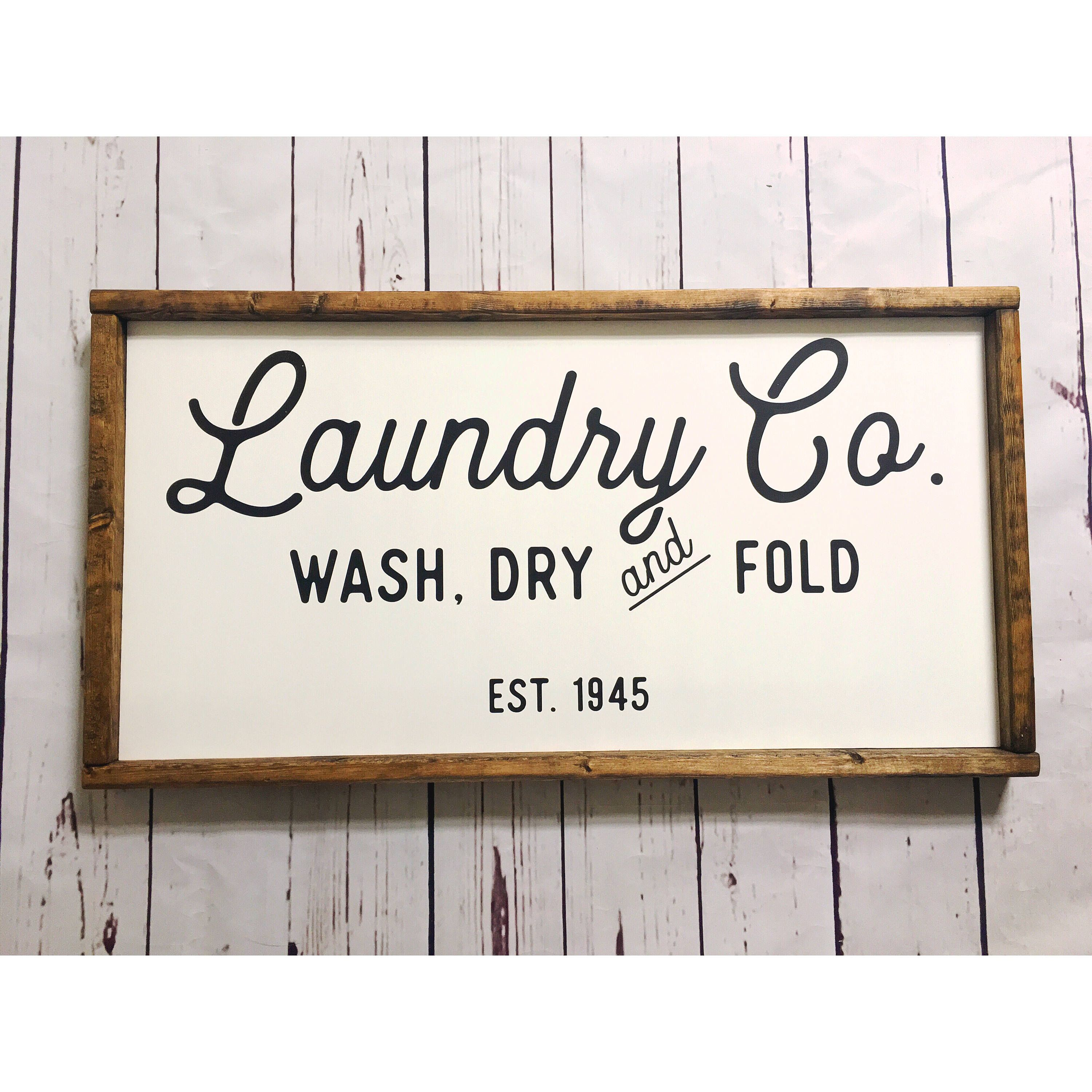 Laundry And Co Sign Laundry Room Sign Laundry Co Sign Laundry Sign Laundry Sign