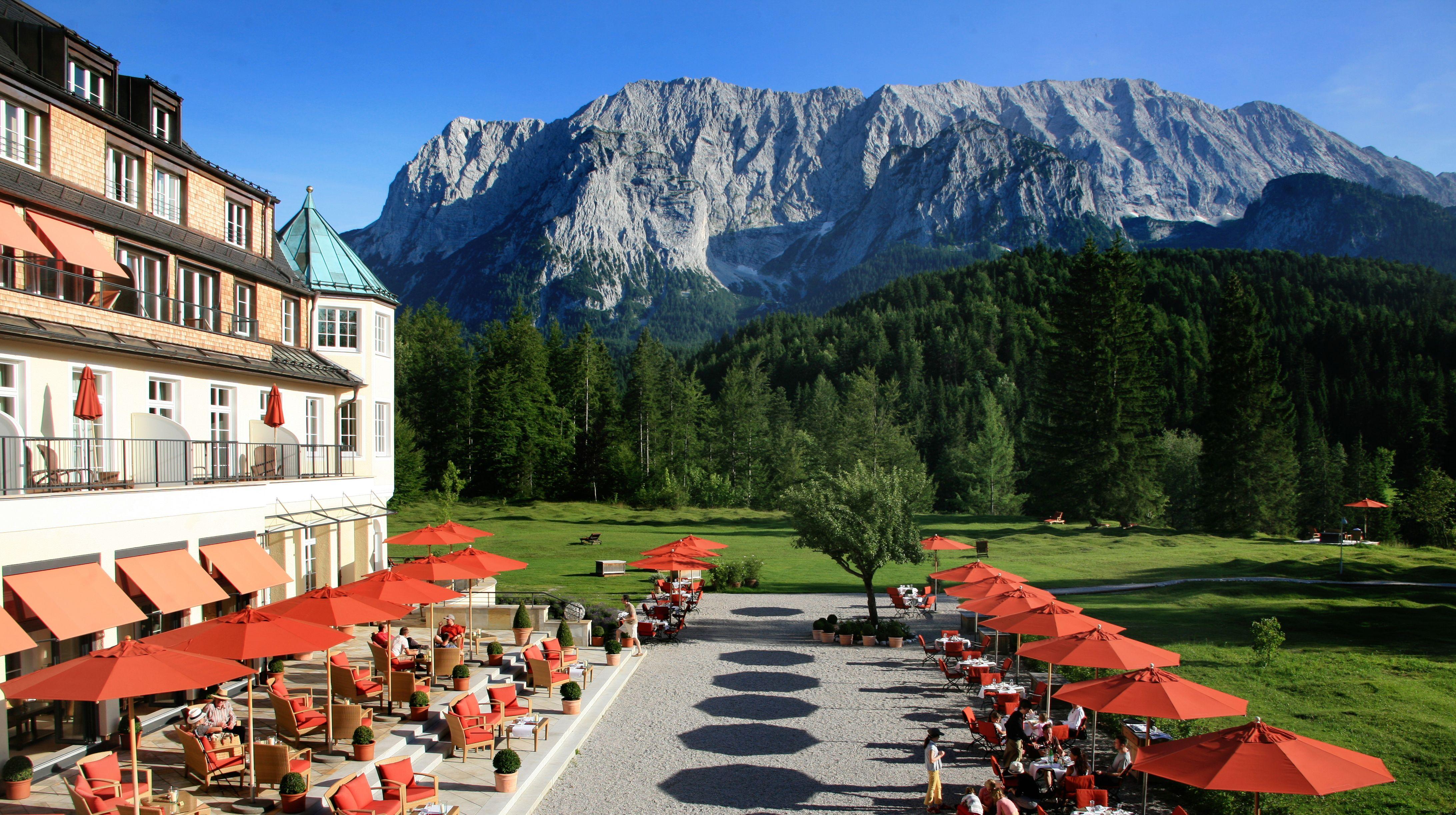 Schloss elmau germany deutschland sehenswert for Designhotel garmisch