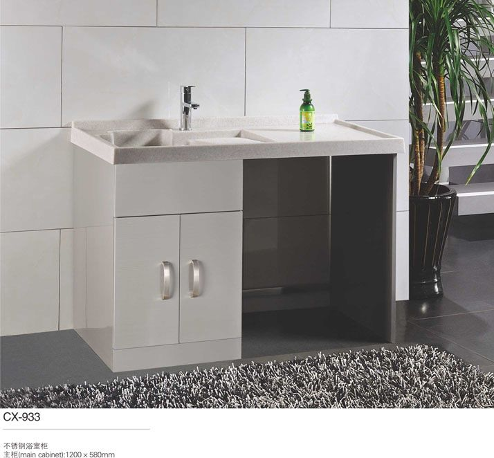 Stainless Steel Washing Bathroom Cabinet Washbasin Stainless Steel Bathroom Stainless Steel Bathroom Vanity Steel Bathroom