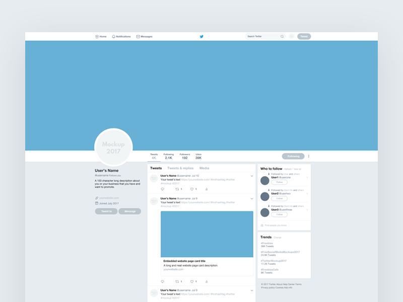 Pin On Twitter Mockup