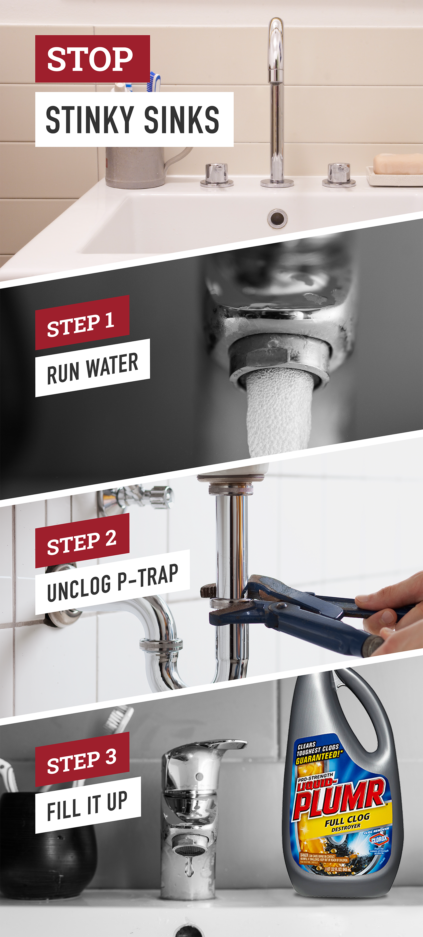nobody wants their kitchen or bathroom sink smelling like the sewer  follow these simple steps nobody wants their kitchen or bathroom sink smelling like the      rh   pinterest co uk